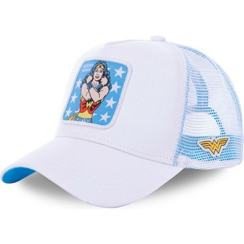 Capslab Wonder Woman WON1 DC Comics Trucker Cap weiß
