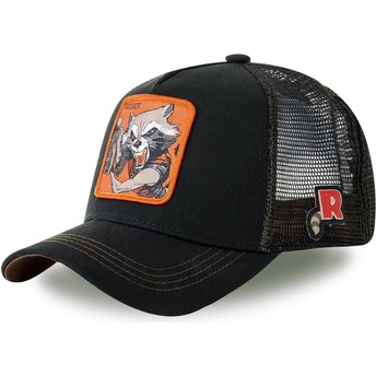 Casquette trucker noire Rocket Raccoon ROC4 Marvel Comics Capslab