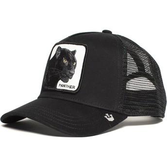 Cappellino trucker nero pantera Black Panther di Goorin Bros.