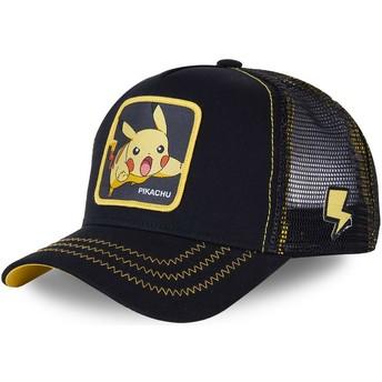 Casquette trucker noire Pikachu PIK7 Pokémon Capslab