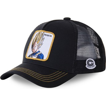 Capslab Vegeta Super Saiyan VE4 Dragon Ball Trucker Cap schwarz