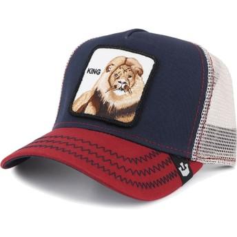 Goorin Bros. Lion Big Rock Navy Blue Trucker Hat