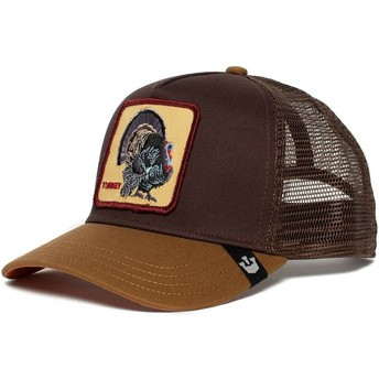 Casquette trucker marron dinde Wild Turkey Goorin Bros.