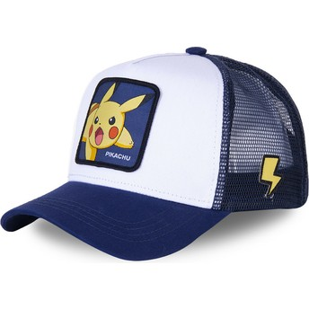 Capslab Pikachu PIK8 Pokémon White and Blue Trucker Hat