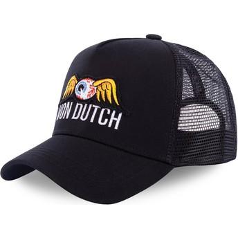 Casquette trucker noire EYEPAT3 Von Dutch