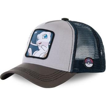 Casquette trucker grise et bleue Mew MEW1 Pokémon Capslab