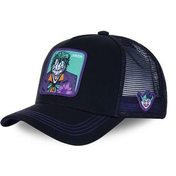 Casquette trucker noire et violette Joker JKR2 DC Comics Capslab
