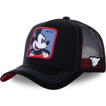 Casquette trucker noire Mickey Mouse MIC2 Disney Capslab