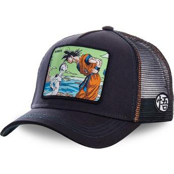 Casquette trucker bleue marine Goku Vs Frieza Namek NAM3 Dragon Ball Capslab
