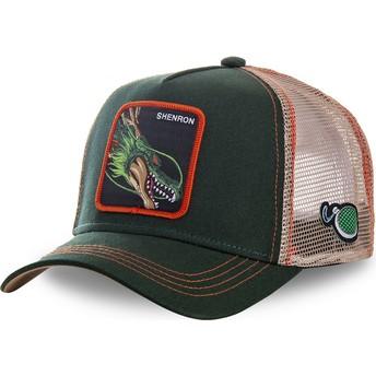 Capslab Shenron SHEN Dragon Ball Green Trucker Hat