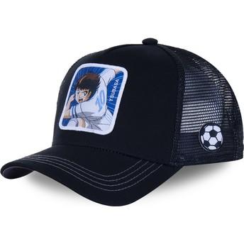 Capslab Tsubasa Ozora TSU4 Captain Tsubasa Black Trucker Hat