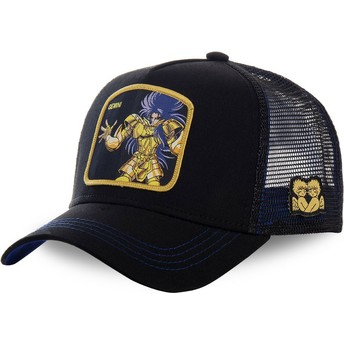 Capslab Gemini GEM Saint Seiya: Knights of the Zodiac Black Trucker Hat