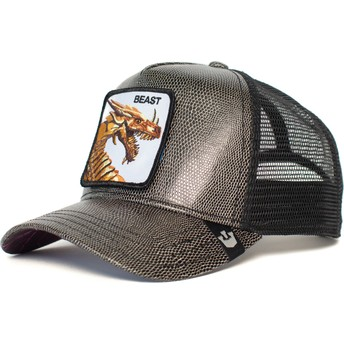Casquette trucker noire dragon Fire Breather Goorin Bros.