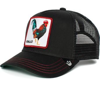 Goorin Bros. Rooster Grande Gallo Black Trucker Hat