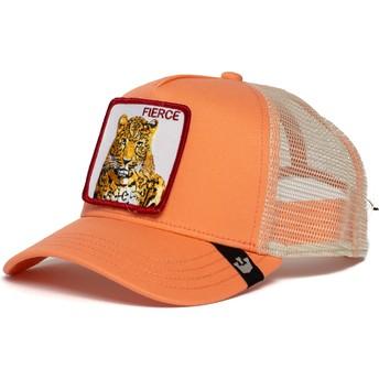 Casquette trucker rose tigre Fierce Tiger Goorin Bros.