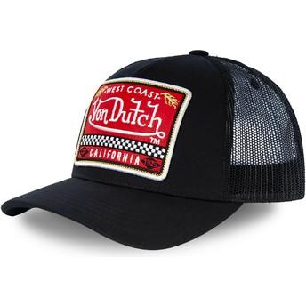 Casquette trucker noire BLKA Von Dutch