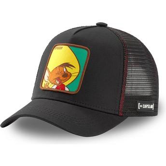 Casquette trucker noire Speedy Gonzales GON2 Looney Tunes Capslab