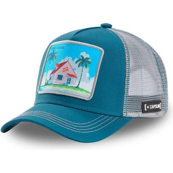 Casquette trucker bleue et grise Kame House HOU3 Dragon Ball Capslab