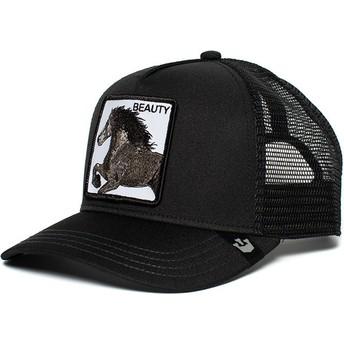 Goorin Bros. Horse Black Beauty Black Trucker Hat