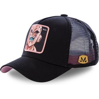 Capslab Youth Kid Buu KID_BUU Dragon Ball Black Trucker Hat