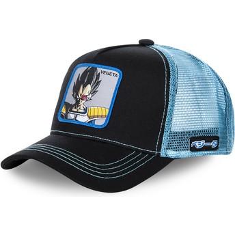 Casquette trucker noire et bleue pour enfant Vegeta KID_VEGB Dragon Ball Capslab