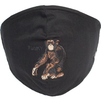 Goorin Bros. Silly Monkey Black Reusable Face Mask