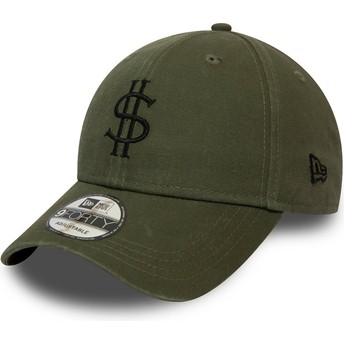 Casquette courbée verte ajustable 9FORTY Dollar Pack New Era