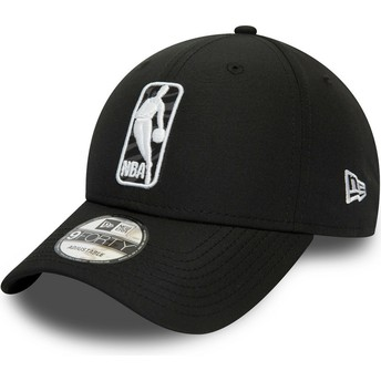 Casquette courbée noire ajustable 9FORTY Logo Hook Jerry West NBA New Era