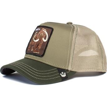 Goorin Bros. Wooly Mammoth Green Trucker Hat