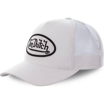 Casquette trucker blanche COL WHI Von Dutch
