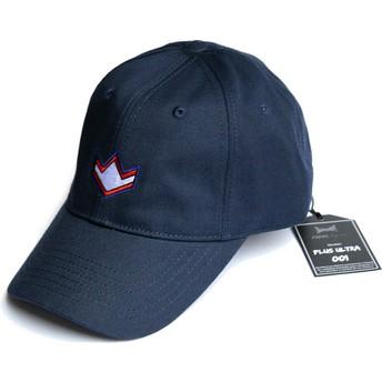 FreakElegance Curved Brim All Might Plus Ultra My Hero Academia Navy Blue Adjustable Cap