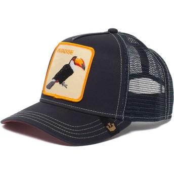 Cappellino trucker blu marino tucano Take Me To di Goorin Bros.