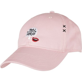 Cayler & Sons Curved Brim WL Boubld Voyage Pink Adjustable Cap