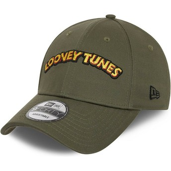 New Era Curved Brim 9FORTY Looney Tunes Green Adjustable Cap