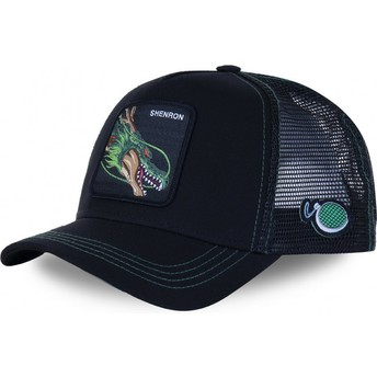 Capslab Shenron SHEN3 Dragon Ball Black Trucker Hat