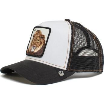 Goorin Bros. Lion King Mane Man The Farm White and Black Trucker Hat