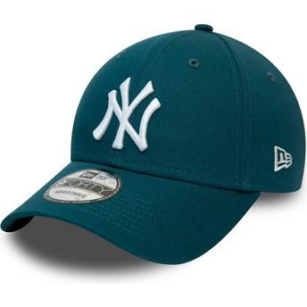 New Era Curved Brim 9FORTY League Essential New York Yankees MLB Blue Adjustable Cap