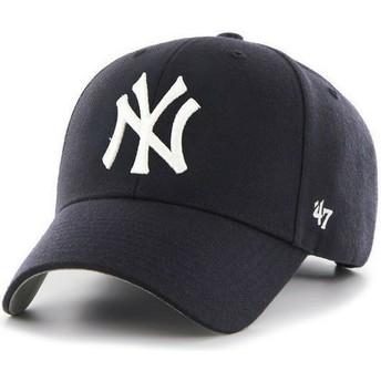 47 Brand Curved Brim New York Yankees MLB Cap marineblau