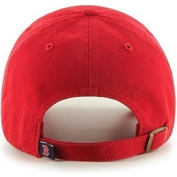 casquette-courbee-rouge-boston-red-sox-mlb-clean-up-47-brand