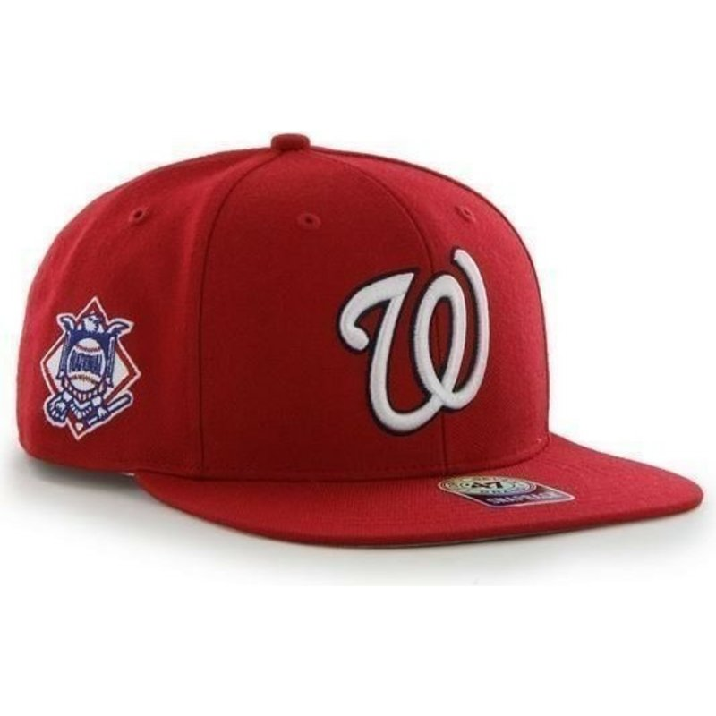 casquette-plate-rouge-snapback-unie-avec-logo-lateral-mlb-washington-nationals-47-brand