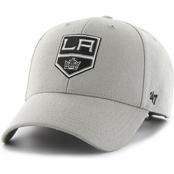 casquette-a-visiere-courbee-grise-nhl-los-angeles-kings-47-brand