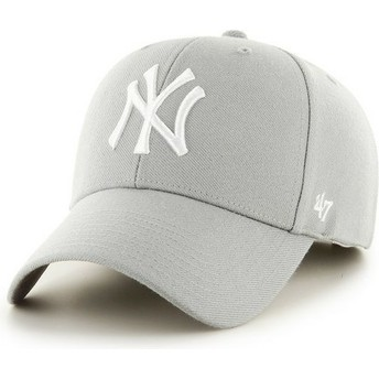 Casquette courbée grise New York Yankees MLB 47 Brand