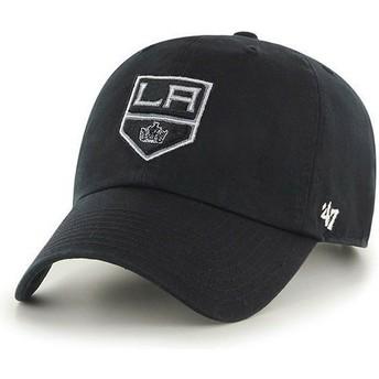 Casquette courbée noire Los Angeles Kings NHL Clean Up 47 Brand